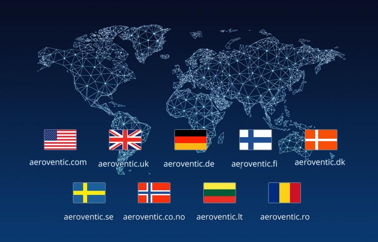 Aeroventic – International online marketplace for HVAC industry - 1