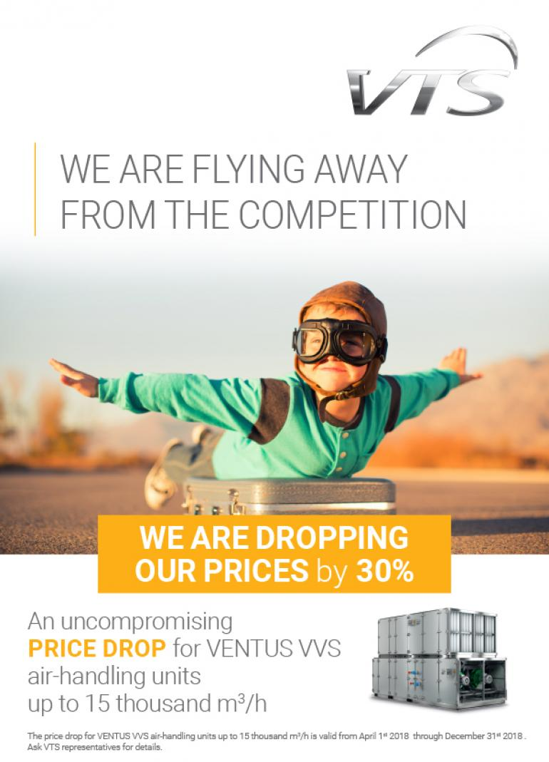 We are flying away from the competition - 1