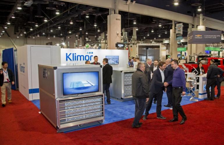 Klimor at AHR Expo 2017 in Las Vegas