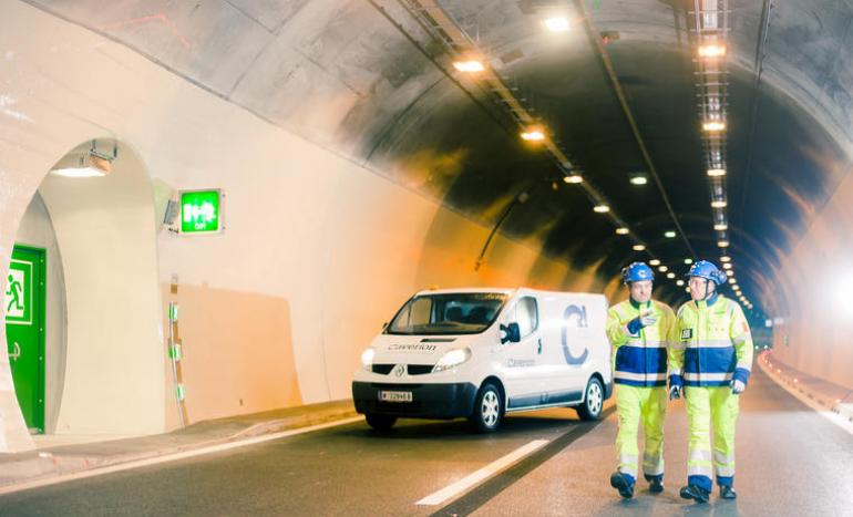 Caverion modernises the tunnel technology in Perjentunnel in Austria