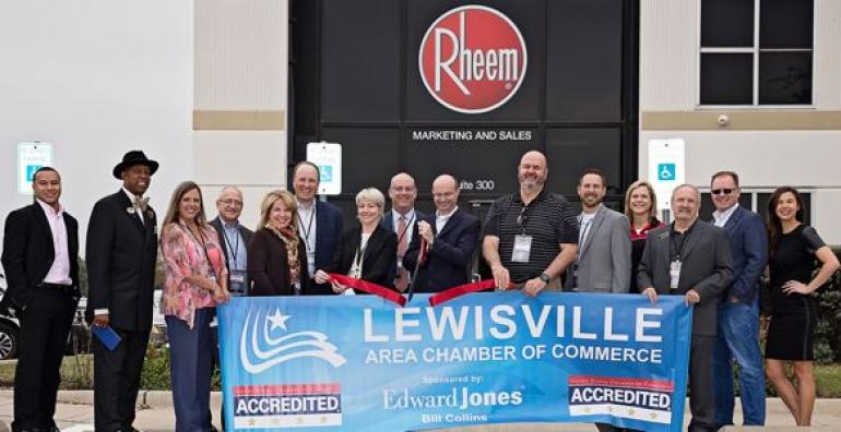 RHEEM opens innovation learning center in Lwisville, Texas