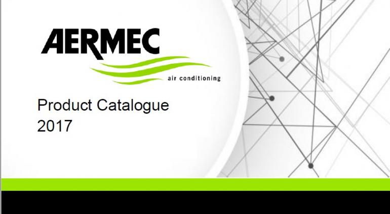 The New Aermec Catalogue 2017 is here