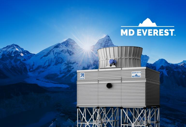New Marley® MD Everestä Counterflow Cooling Tower's Modular Design  Speeds Site Delivery and Installation, Allowing Process Cooling Plants  to be Operational and Productive Sooner