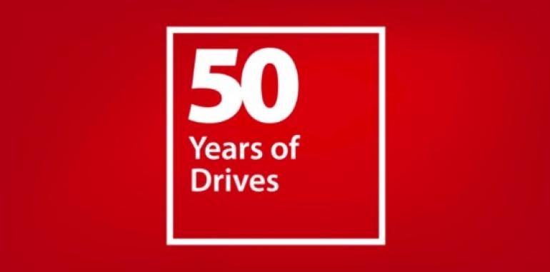 50 years of passion for drives