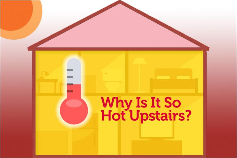 Why Is It So Hot Upstairs? Tips for Keeping Your Upstairs As Cool As Your Downstairs