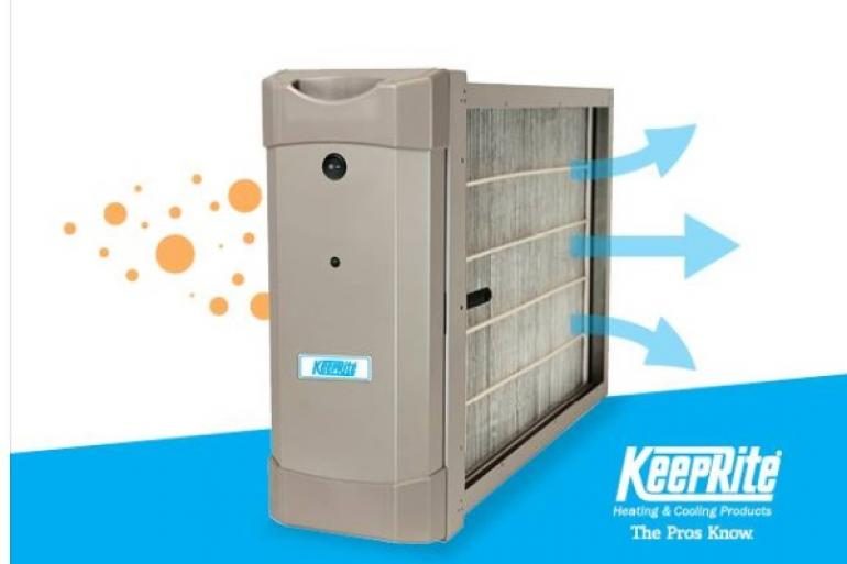 KeepRite Heating & Cooling Products - What are you breathing in your home?
