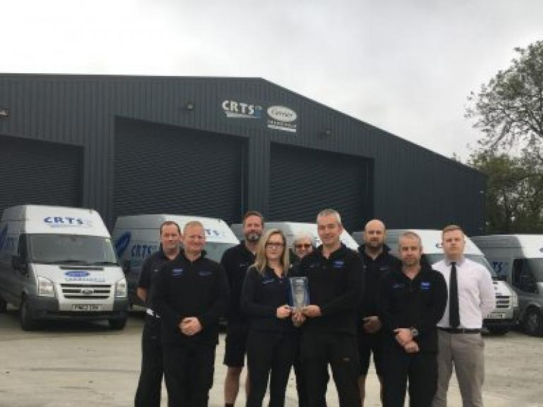 First Carrier Safe Award for Carrier Transicold Cornwall