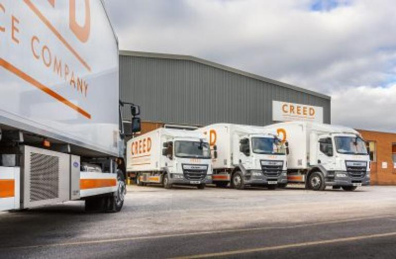 Carrier Transicold Engineless Systems Help Creed Foodservice Improve Sustainability
