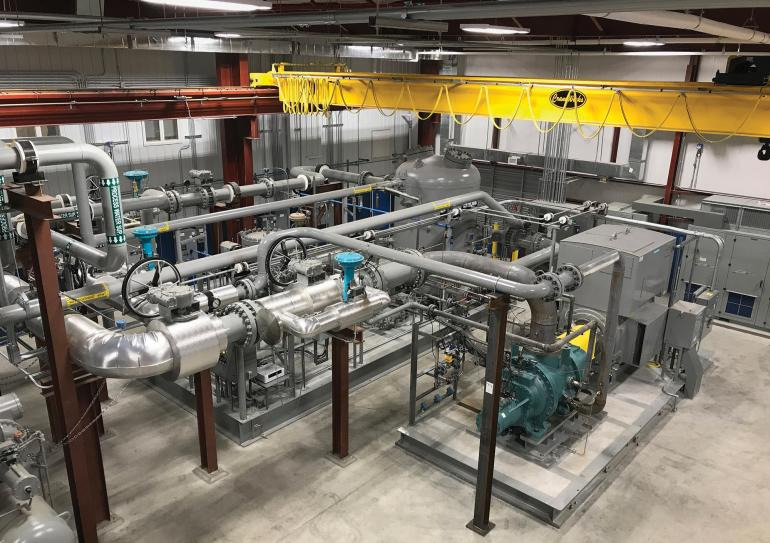 Johnson Controls introduces a new test center for screw compressors