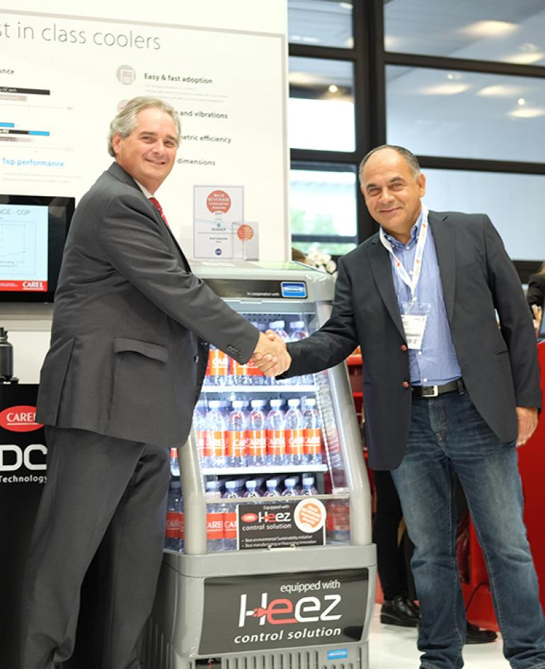 Frigoglass chooses Heez for open front beverage coolers - the witness of user's experience