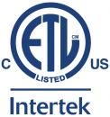 Intertek ETL Listed (Canada & USA)