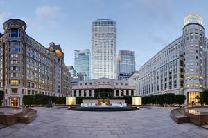 Canary Wharf -  the major business district of modern London
