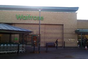 The supermarket chain Waitrose Bromley