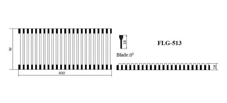 Floor linear grille FLG-013 GMC AIR - 2