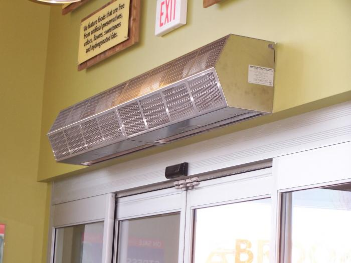 Ambient air curtain High Performance 10 Berner