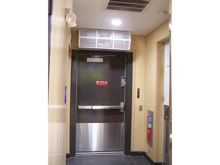 Ambient air curtain High Performance 7 Berner