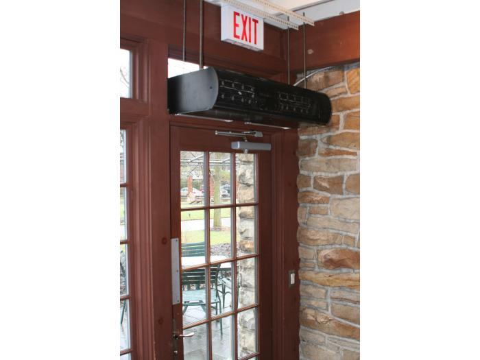ARCHITECTURAL LOW PROFILE 8 Electric Heated Air Curtain Berner