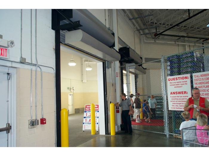 Ambient air curtain ARCHITECTURAL HIGH PERFORMANCE 10 Berner