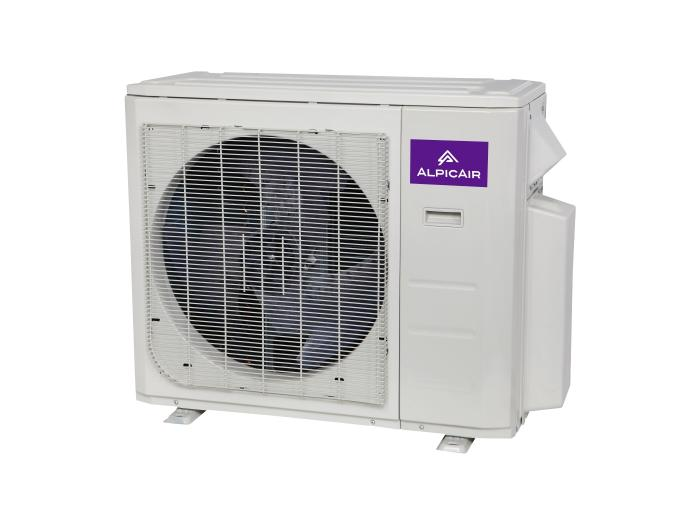 Ductless Mini-Split 18,000 BTU Inverter Heat Pump System (9k+12k) 21.3 SEER ALPICAIR