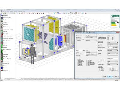 Visual AHU Manufacturing Software CCSI