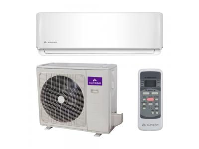 Ductless Mini Split 12,000 BTU Inverter Heat Pump System 21.5 SEER ALPICAIR