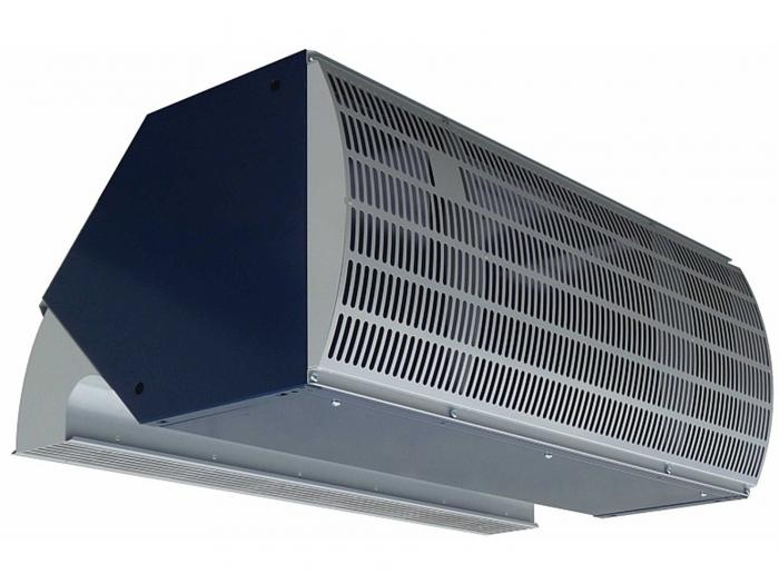 INDAC₂ industrial air curtain Biddle Air Systems