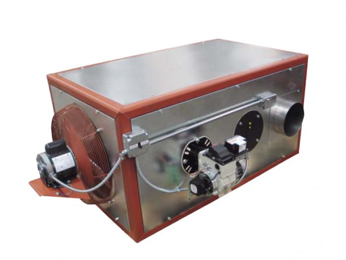 QVOF Series - Oil-Fired Unit Heater Sterling HVAC Products