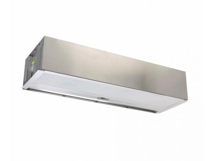 Hot water air curtain ARCHITECTURAL RECESSED 12 Berner