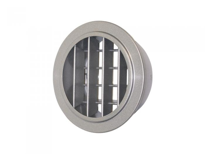 Round Double Deflection Grille with Wide Spacing RDDW AirConcepts