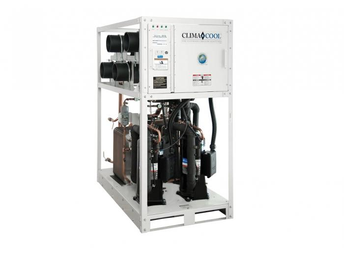 Modular water cooled chiller UCW Climacool