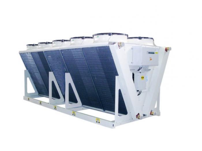 Liquid Dry Coolers : Dry cooler unit cdr aermec aeroventic