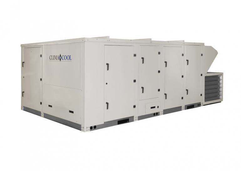 Packaged Rooftop Water Cooled Chiller Climacool Aeroventic